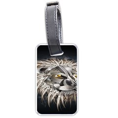 Lion Robot Luggage Tags (Two Sides)