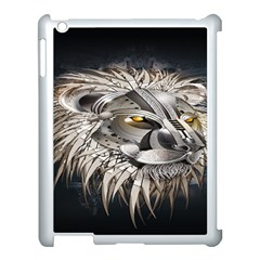 Lion Robot Apple iPad 3/4 Case (White)