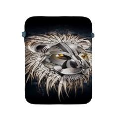 Lion Robot Apple iPad 2/3/4 Protective Soft Cases