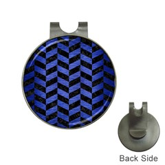 CHV1 BK-MRBL BL-BRSH Hat Clips with Golf Markers