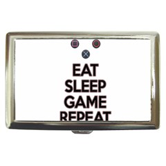 Eat sleep game repeat Cigarette Money Cases