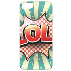 Lol Comic Speech Bubble Vector Illustration Apple iPhone 5 Classic Hardshell Case
