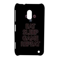 Eat sleep game repeat Nokia Lumia 620