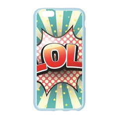 Lol Comic Speech Bubble Vector Illustration Apple Seamless iPhone 6/6S Case (Color)