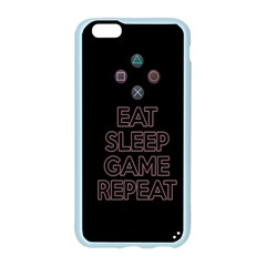 Eat sleep game repeat Apple Seamless iPhone 6/6S Case (Color)