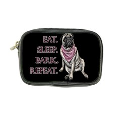 Eat, sleep, bark, repeat pug Coin Purse