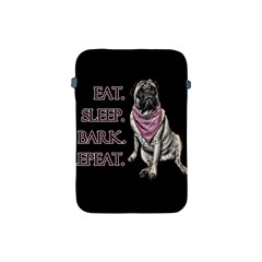 Eat, sleep, bark, repeat pug Apple iPad Mini Protective Soft Cases