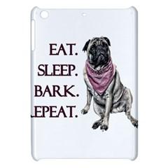 Eat, sleep, bark, repeat pug Apple iPad Mini Hardshell Case