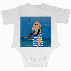 Sailor Infant Creepers