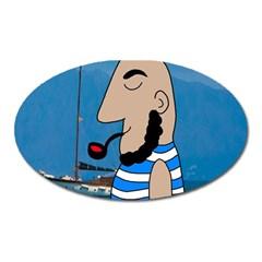Sailor Oval Magnet