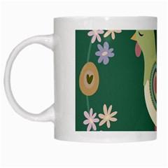 Easter White Mugs