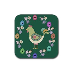 Easter Rubber Coaster (Square)