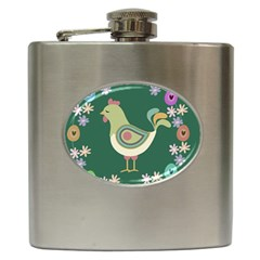 Easter Hip Flask (6 oz)