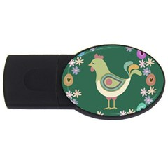 Easter USB Flash Drive Oval (1 GB)