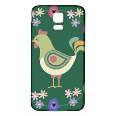 Easter Samsung Galaxy S5 Back Case (White)