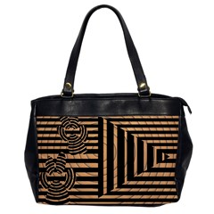 Wooden Pause Play Paws Abstract Oparton Line Roulette Spin Office Handbags