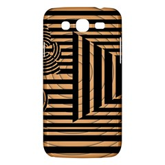 Wooden Pause Play Paws Abstract Oparton Line Roulette Spin Samsung Galaxy Mega 5.8 I9152 Hardshell Case