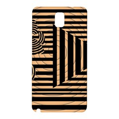 Wooden Pause Play Paws Abstract Oparton Line Roulette Spin Samsung Galaxy Note 3 N9005 Hardshell Back Case