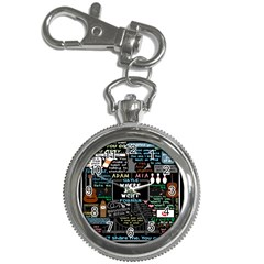 Book Quote Collage Key Chain Watches