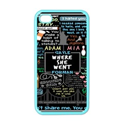 Book Quote Collage Apple iPhone 4 Case (Color)