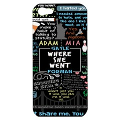 Book Quote Collage Apple iPhone 5 Hardshell Case
