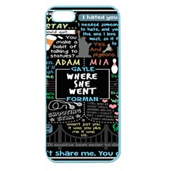 Book Quote Collage Apple Seamless iPhone 5 Case (Color)