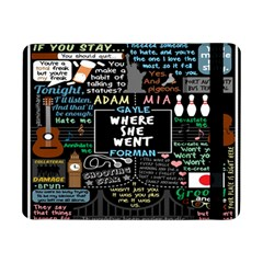 Book Quote Collage Samsung Galaxy Tab Pro 8.4  Flip Case