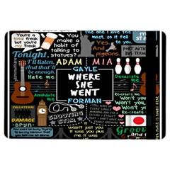 Book Quote Collage iPad Air 2 Flip