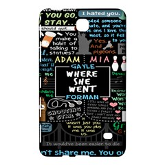 Book Quote Collage Samsung Galaxy Tab 4 (7 ) Hardshell Case