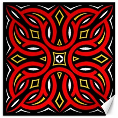 Traditional Art Pattern Canvas 20  x 20