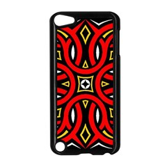Traditional Art Pattern Apple iPod Touch 5 Case (Black)