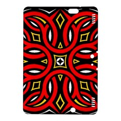 Traditional Art Pattern Kindle Fire HDX 8.9  Hardshell Case