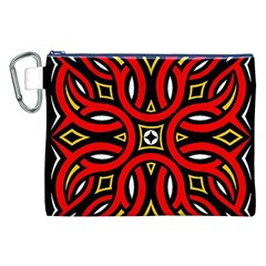Traditional Art Pattern Canvas Cosmetic Bag (XXL)