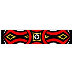 Traditional Art Pattern Flano Scarf (Small)