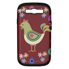 Easter Samsung Galaxy S III Hardshell Case (PC+Silicone)