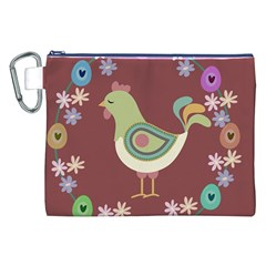 Easter Canvas Cosmetic Bag (XXL)