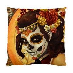 Fantasy Girl Art Standard Cushion Case (One Side)