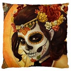 Fantasy Girl Art Large Cushion Case (One Side)