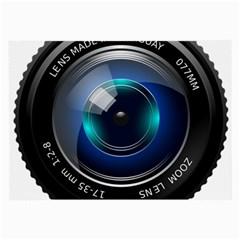 Camera Lens Prime Photography Large Glasses Cloth (2-Side)