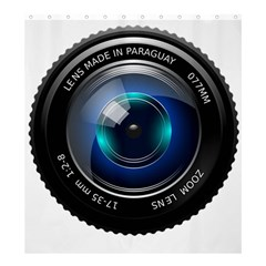 Camera Lens Prime Photography Shower Curtain 66  x 72  (Large)