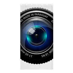 Camera Lens Prime Photography Shower Curtain 36  x 72  (Stall)