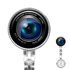 Camera Lens Prime Photography Stainless Steel Nurses Watch