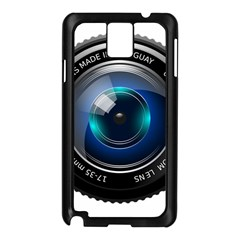 Camera Lens Prime Photography Samsung Galaxy Note 3 N9005 Case (Black)