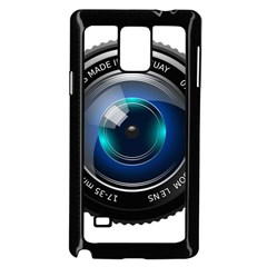 Camera Lens Prime Photography Samsung Galaxy Note 4 Case (Black)