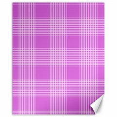 Seamless Tartan Pattern Canvas 16  x 20