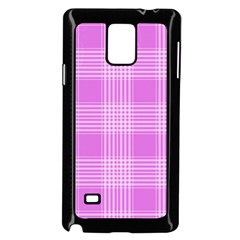 Seamless Tartan Pattern Samsung Galaxy Note 4 Case (Black)