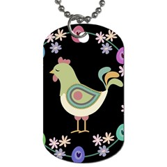 Easter Dog Tag (One Side)