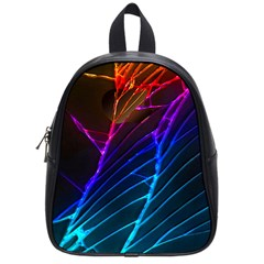 Cracked Out Broken Glass School Bags (Small)