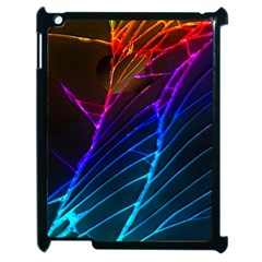 Cracked Out Broken Glass Apple iPad 2 Case (Black)