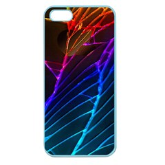 Cracked Out Broken Glass Apple Seamless iPhone 5 Case (Color)